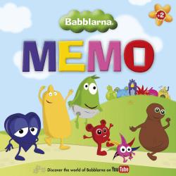 BABBLARNA Memo / Memory multifärg