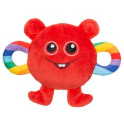 BABBLARNA Mjuk Skallra - Bobbo Red
