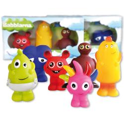 BABBLARNA Plast figurer Mix 6 olika multifärg
