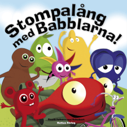 BABBLARNA Stompalong med Babblarna!  - Bok MultiColor one size