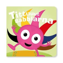 BABBLARNA Tittuuut Babblarna!  - Kartongbok Svart