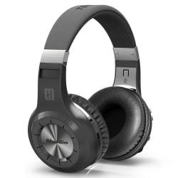 Bluedio H+ Turbine Trådlös Bluetooth Stereo hörlurar - Svart Svart