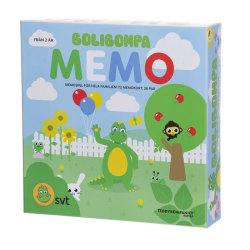 Bolibompa Memo / Memory multifärg