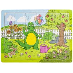 BOLIBOMPA Pussel Draken,I trädgården,Pussel 24bitar,3-6år