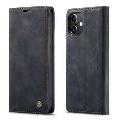 CASEME Plånboksfodral iPhone 12 Mini - Svart Svart