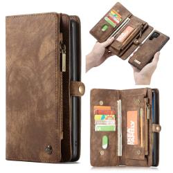 CASEME Samsung Galaxy Note 10 Plus Retro Plånboksfodral - Brun Brun