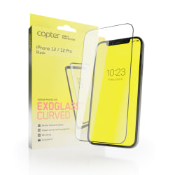 Copter Exoglass Curved Frame iPhone 12 / 12 Pro - Full Glue Transparent