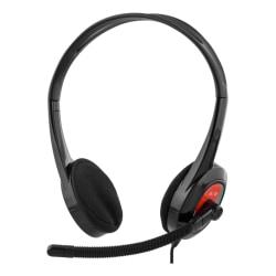 DELTACO headset för Ultrabooks, surfplattor, mobiltelefon