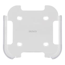 DELTACO väggfäste för 4:e/5:e gen Apple TV, Transparant Vit