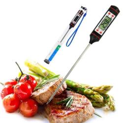 Digital Grill BBQ Stek Termometer Silver