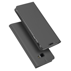DUX DUCIS Pro Series fodral Samsung Galaxy J4+ - Mörk grå Svart
