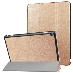 "Fodral Till Huawei MediaPad M3 Lite 10"" - Guld Guld"