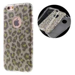 G-CASE Leopard TPU + PC Hybrid skal iPhone 6s/6 4.7 - Guld Guld