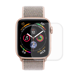 HAT PRINCE Apple Watch Series 4 40mm Pet Curved skärmskydd Transparent