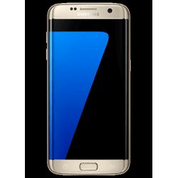 Heltäckande Antichock Skärmskydd Samsung Galaxy S7 Edge Transparent