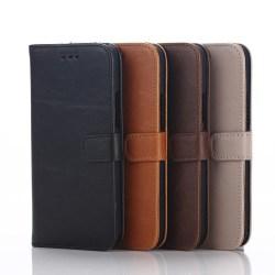 HTC ONE M9 Stilrent plånboksfodral Svart
