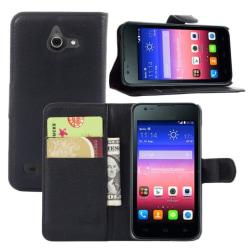 Huawei Ascend Y550 Plånboksfodral Svart