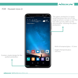 Huawei Mate 10 Lite Härdat glas 0,33mm Nillkin Transparent