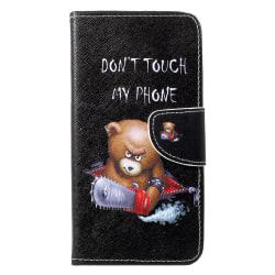 Huawei P30 Lite Plånbokfodral - Angry Bear Svart