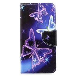 Huawei P30 Lite Plånbokfodral - Beautiful Butterfly Blå