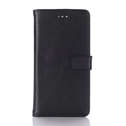 Huawei P9 Plånboksfodral Retro Svart Svart