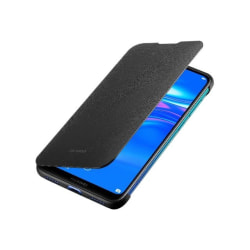 Huawei Y7 2019 Flip Cover Case Original - Svart Svart