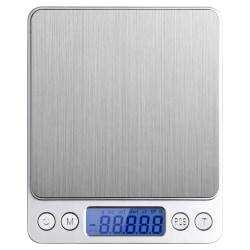 Hushållsvåg Max 2kg, 0,1 gram intervall Silver