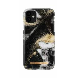 iDeal Of Sweden iPhone 11 skal - Black Galaxy Marble Svart