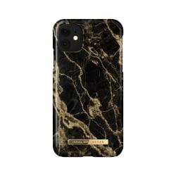 iDeal Of Sweden iPhone 11 / XR skal - Golden Smoke Marble Svart