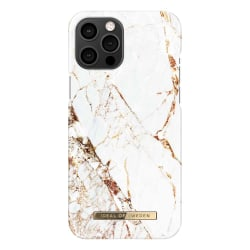iDeal Of Sweden iPhone 12 Pro Max skal - Carrara Gold Guld