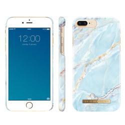 iDeal Of Sweden iPhone 8 Plus / 7 Plus Marmor skal - Paradise Ma Blå