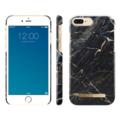 iDeal Of Sweden iPhone 8/7/6 Plus Marmor skal - Laurent Svart