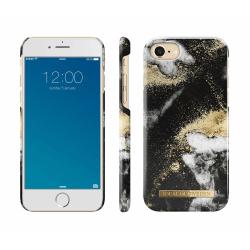 iDeal Of Sweden iPhone 8/7/6/SE (2020)  skal - Black Galaxy Marb Svart