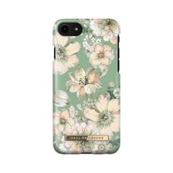 iDeal Of Sweden iPhone 8/7/6s/6/SE (2020) skal - Vintage Bloom Svart
