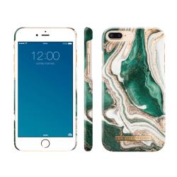 iDeal Of Sweden IPhone 8 Plus / 7 Plus - Golden Jade Marble multifärg