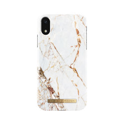 iDeal Of Sweden iPhone XR Marmor skal - Carrara Gold Vit