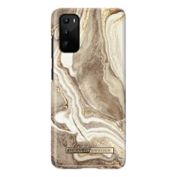 iDeal Of Sweden Samsung Galaxy S20 - Golden Sand Marble Guld