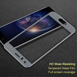 IMAK Heltäckande Härdat Glas Huawei Honor 9 - Grå Transparent