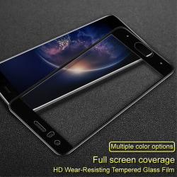 IMAK Heltäckande Härdat Glas Huawei Honor 9 - Svart Transparent