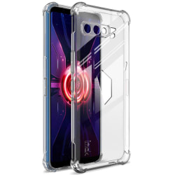 IMAK TPU Cover + Screen Film för Asus ROG Phone 3 Transparent