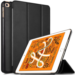 iPad Mini 2019 / Mini 4 Slim fit tri-fold fodral - Svart Svart
