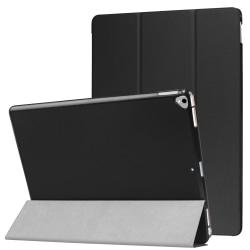 """iPad Pro 12.9"""" (2017/2015) Slim fit tri-fold fodral - Svart Svart"""