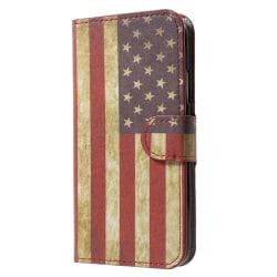 iPhone X / XS Plånboksfodral - US Flag