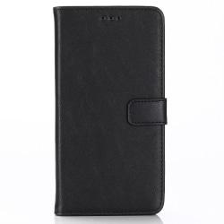 iPhone XR Retro Plånboksfodral / Fodral Svart Svart