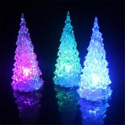 Jul dekorationsbelysning LED - Julgran Svart