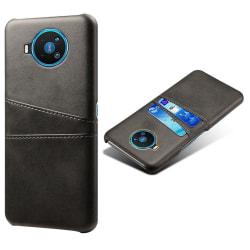 KSQ Nokia 8.3 5G Skal med kortplats - Svart Svart