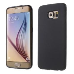Matt TPU Skal  Samsung Galaxy S6 Edge G925 SVART Svart