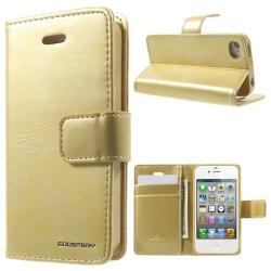 Mercury Goospery Blue Moon till iPhone 4 / 4s - Guld Guld