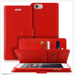 Mercury Goospery Mansoor iPhone 5  / 5s - Röd Röd