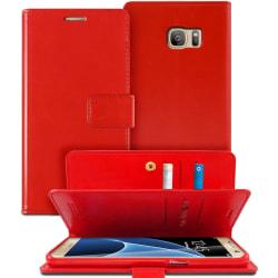 Mercury Goospery Mansoor Samsung Galaxy S6 Edge Plus Röd Röd